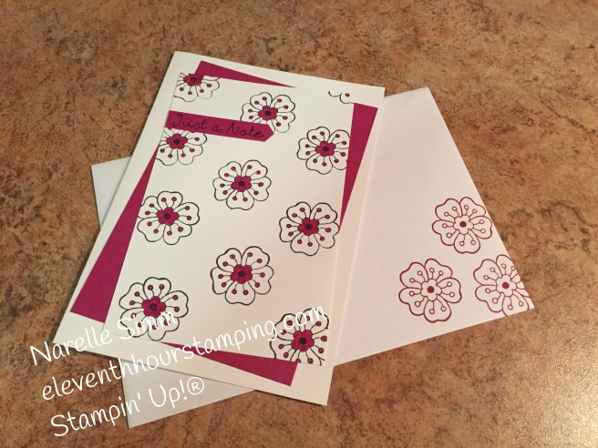 Paper Adventures Team Blog Hop - Hostess Sets   Feathered Friends' notecards, with 2017-2019 In Colours